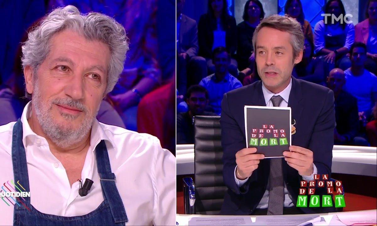 Alain Chabat fait sa promo de la mort