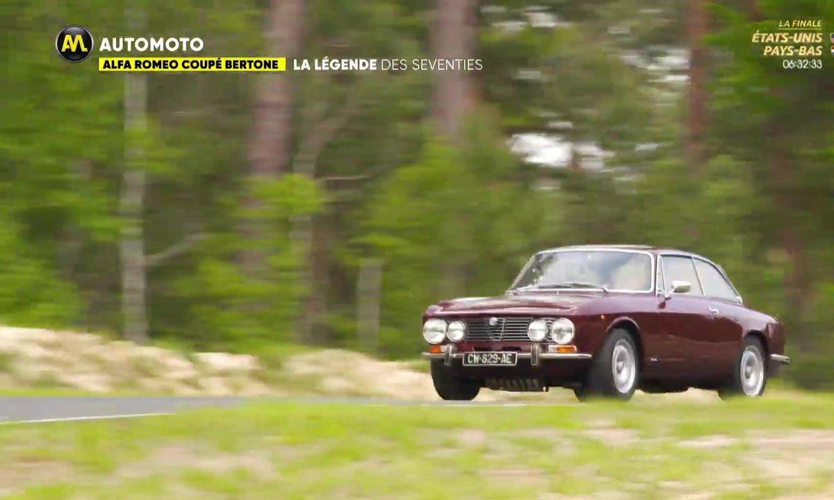 Alfa Romeo Coupé Bertone : La légende des Seventies