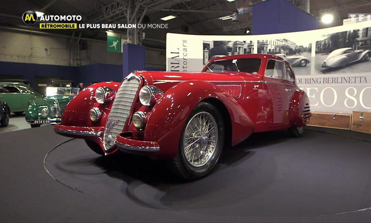 Rétromobile 2019 : La sublime Alfa Romeo 8C 2900 B Touring Berlinetta