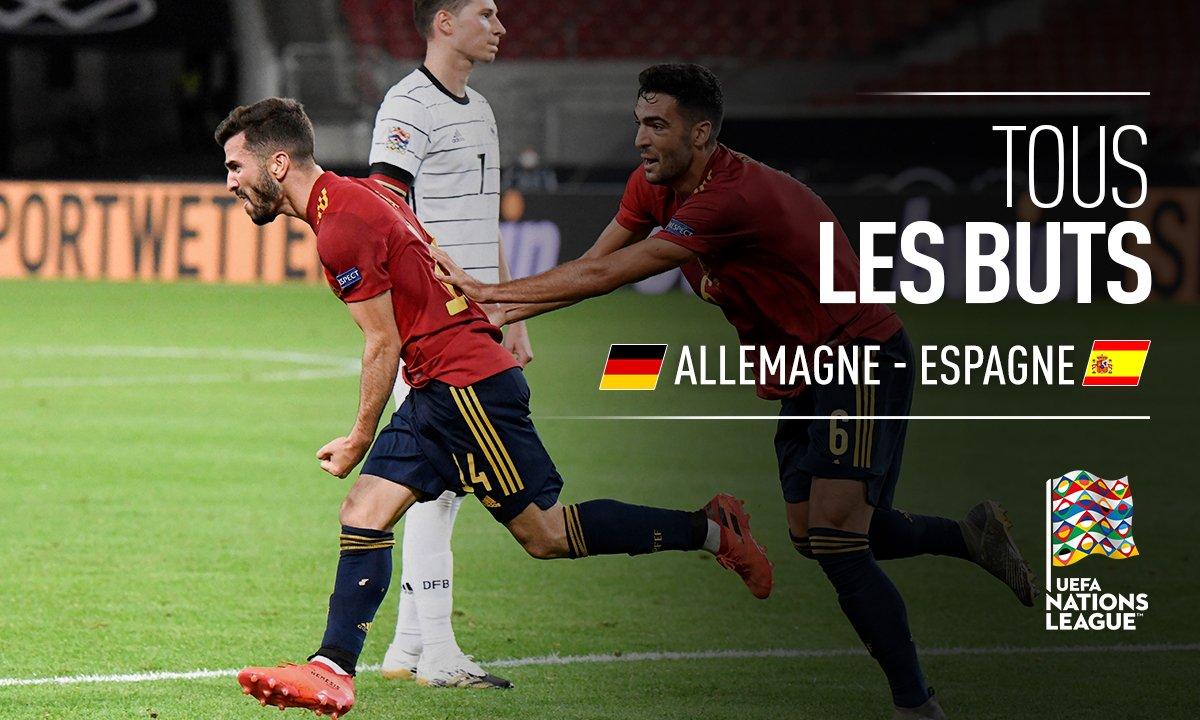 Allemagne - Espagne : Voir tous les buts du match en vidéo