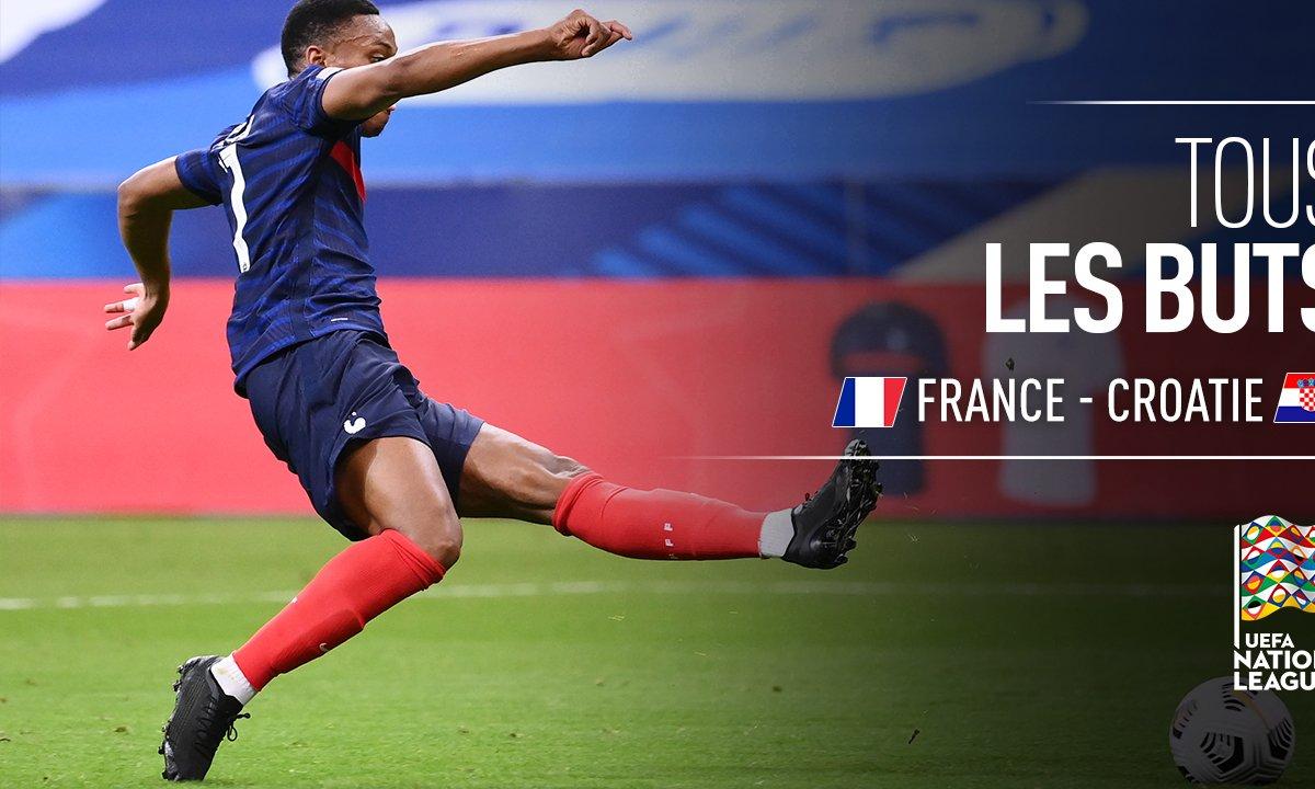 France Croatie Voir Tous Les Buts Du Match En Video L Equipe De France Tf1