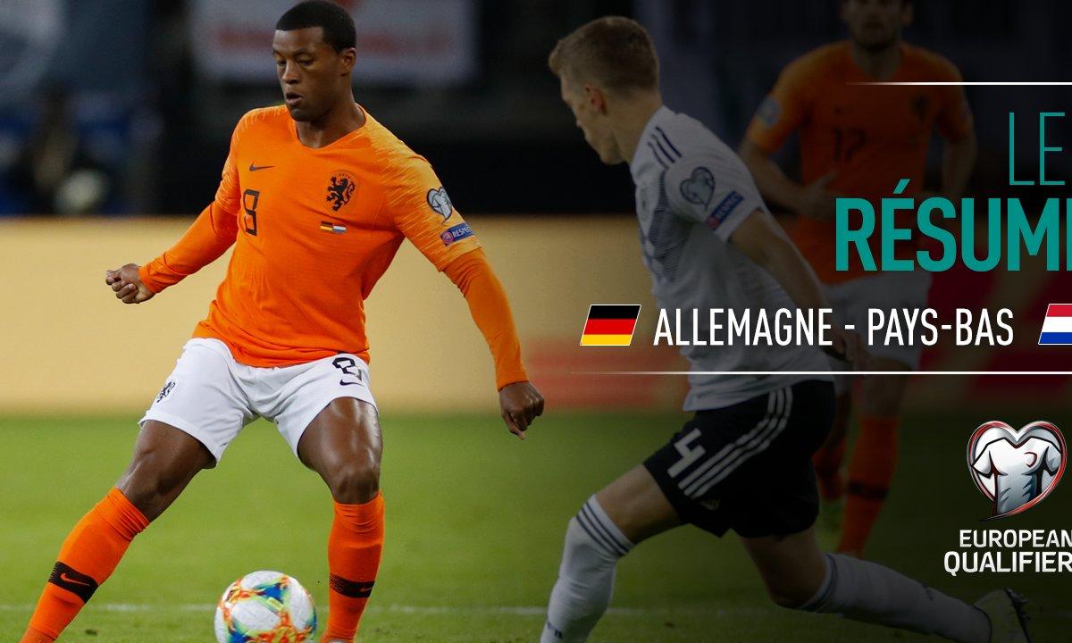 Allemagne - Pays-Bas : Voir le résumé du match en vidéo