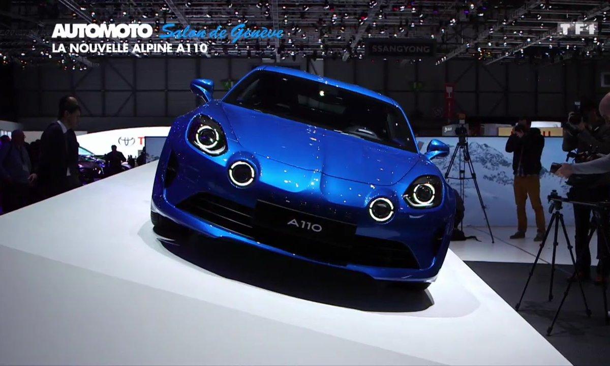 La nouvelle Alpine A110 au Salon de Genève 2017
