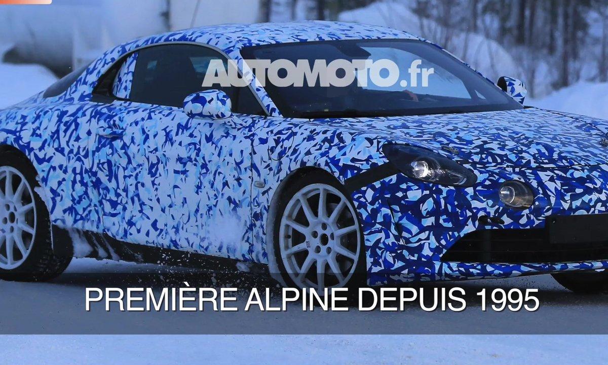 La future Alpine A110 2017 en scoop