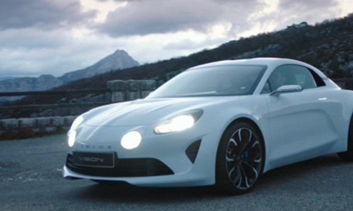 Alpine Vision Concept 2016 : présentation officielle