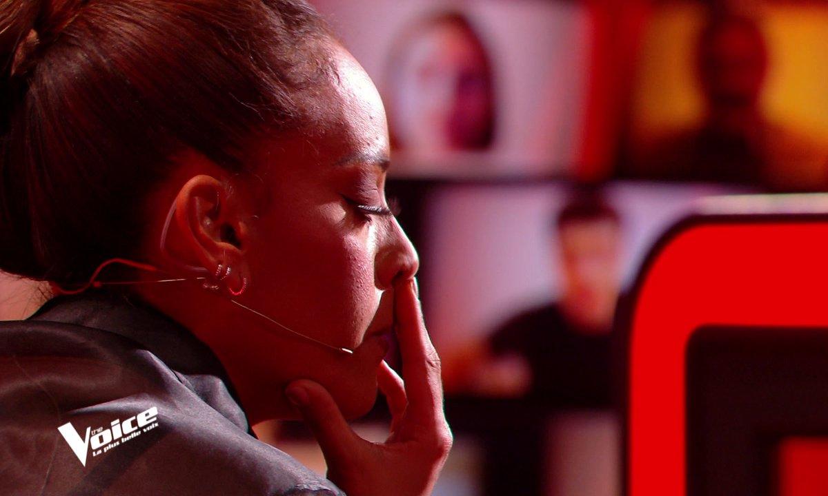 The Voice 2021 – L'anecdote très personnelle qui a empêché Amel Bent de buzzer...