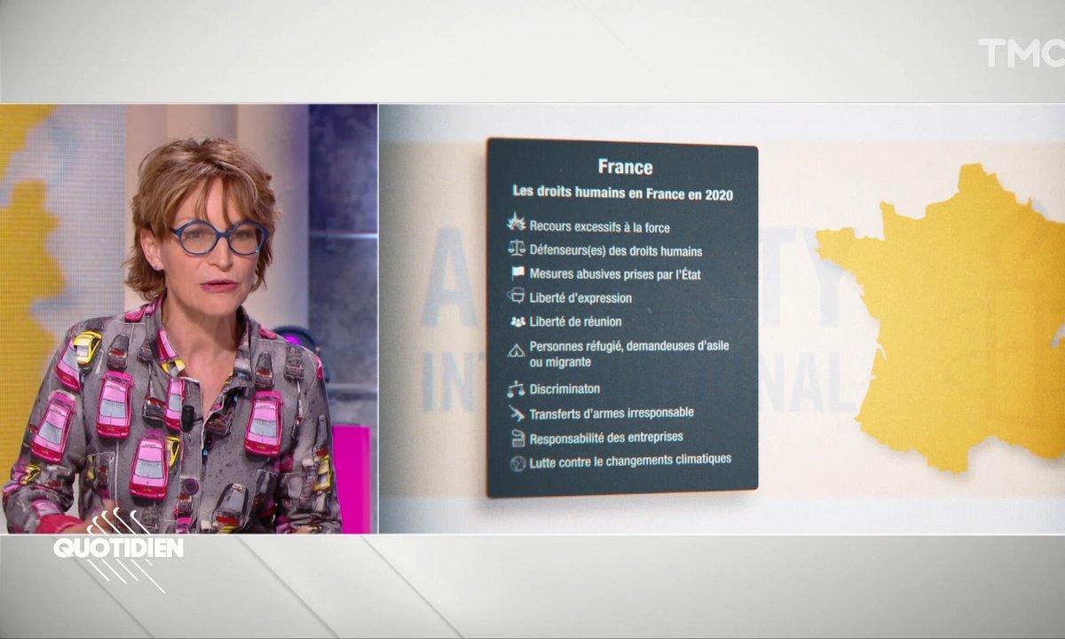 """Amnesty International : """"Dans le recul des droits humains, la France ne fait pas exception"""""""