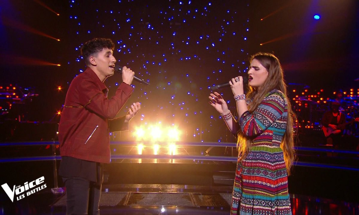 The Voice 2021 – Youssef Zaki VS Anaïd. B chantent « Zina » de Babylone