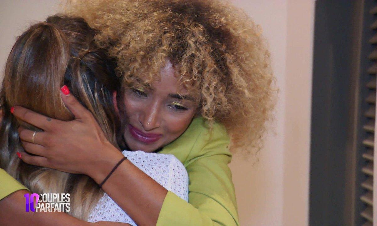 Anissa quitte l'aventure, Mélanie en larmes
