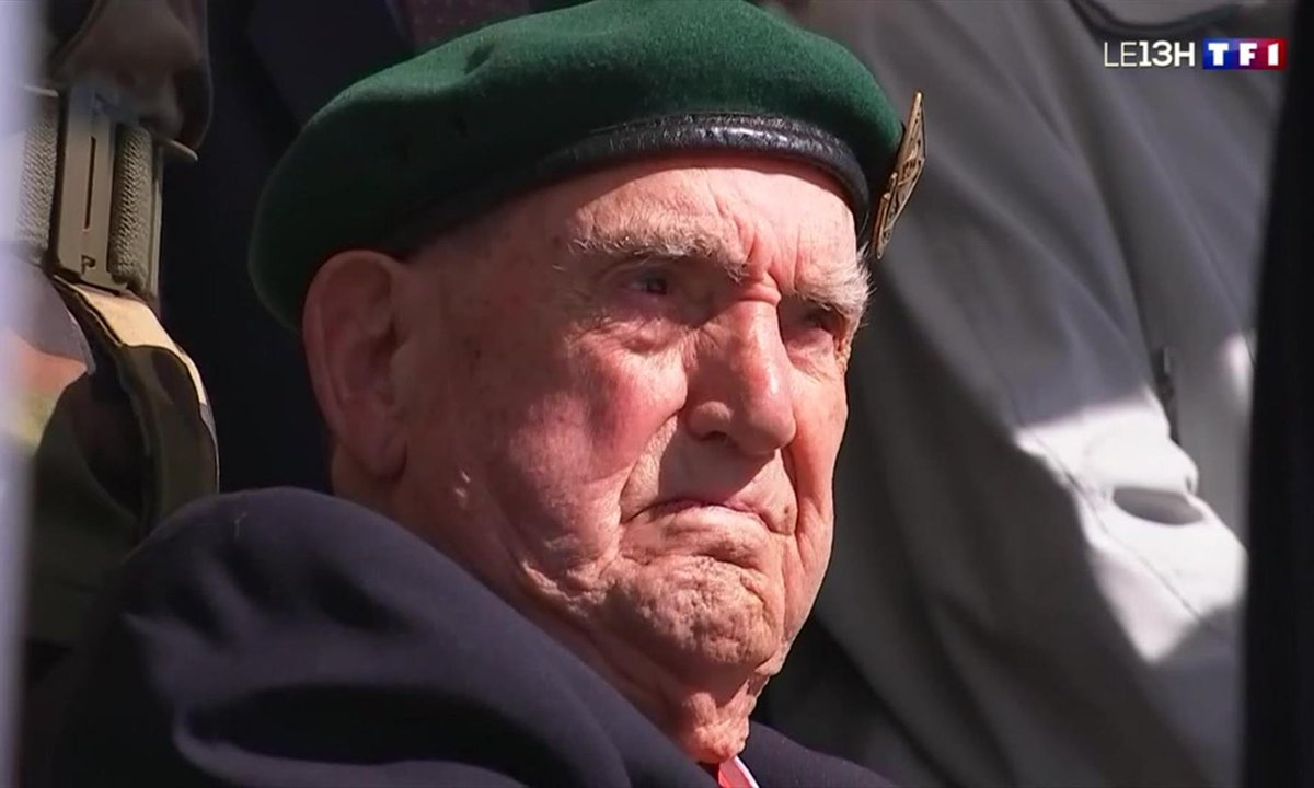 Anniversaire du D-Day : le dernier survivant rend hommage à ses compagnons de guerre