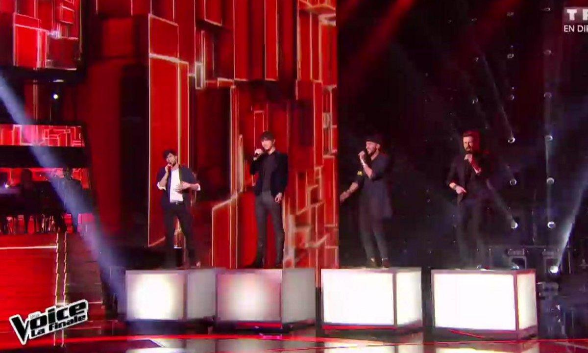 Antoine, Clément, MB14 et Slimane ouvrent le show de la finale sur « Lean On » (Saison 05)