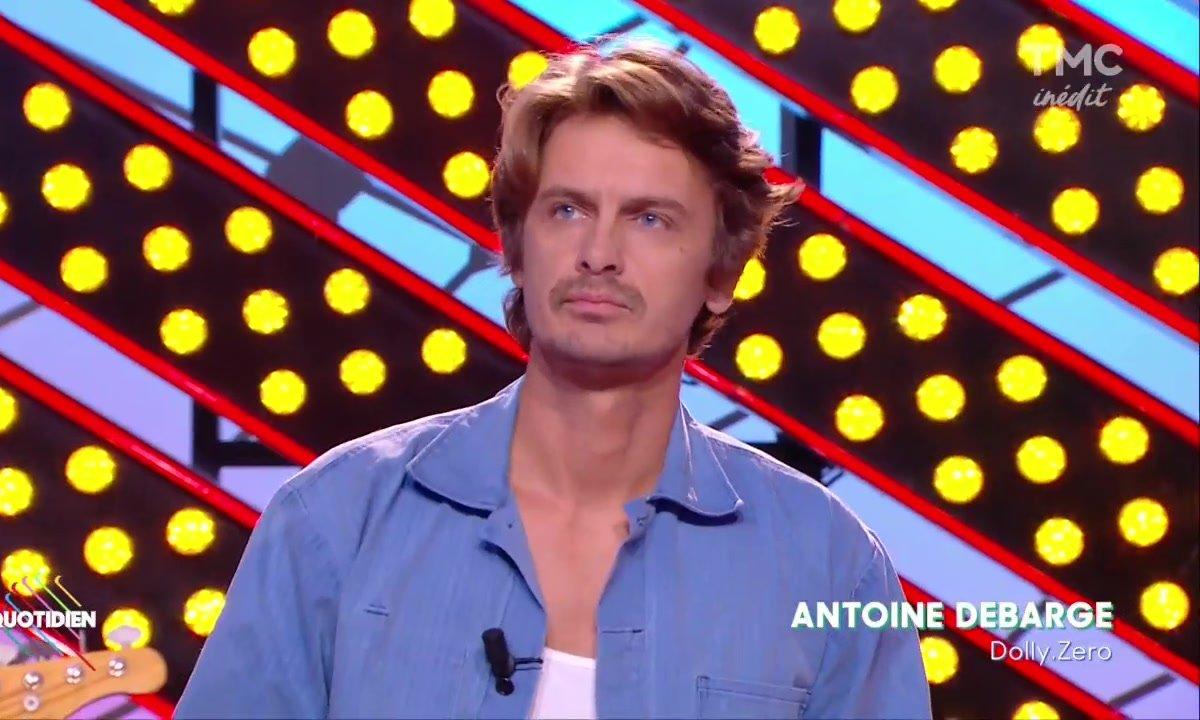 """Antoine Debarge : """"Dolly Zero"""" en live sur Quotidien"""