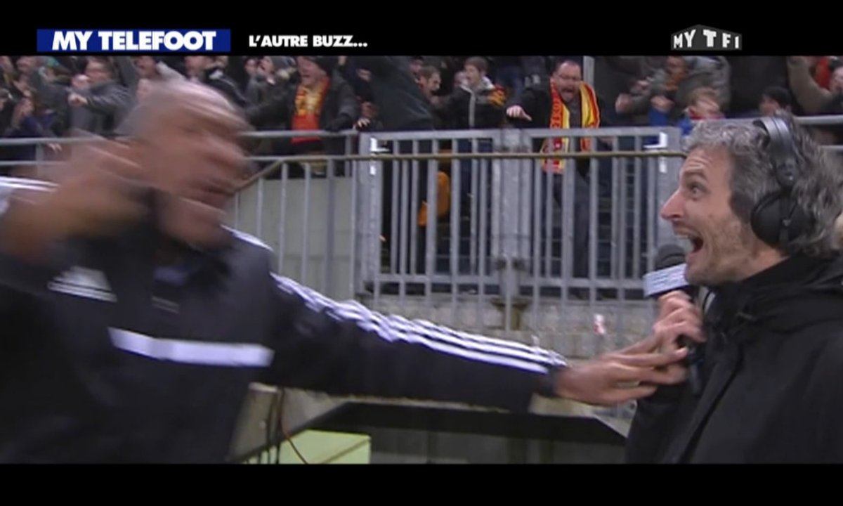 MyTELEFOOT : quand Antoine Kombouaré veut frapper Romain Balland !