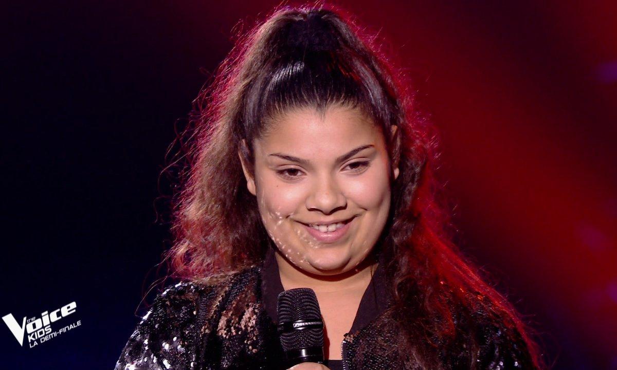The Voice Kids : Antonia chante « The power of love » de Céline Dion (Team Amel Bent)