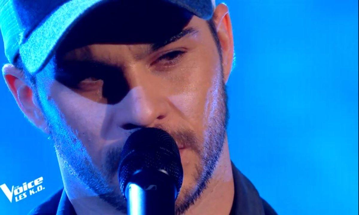 """THE VOICE 2020 - Antony Trice chante """"Si t'étais là"""" de Louane (KO)"""