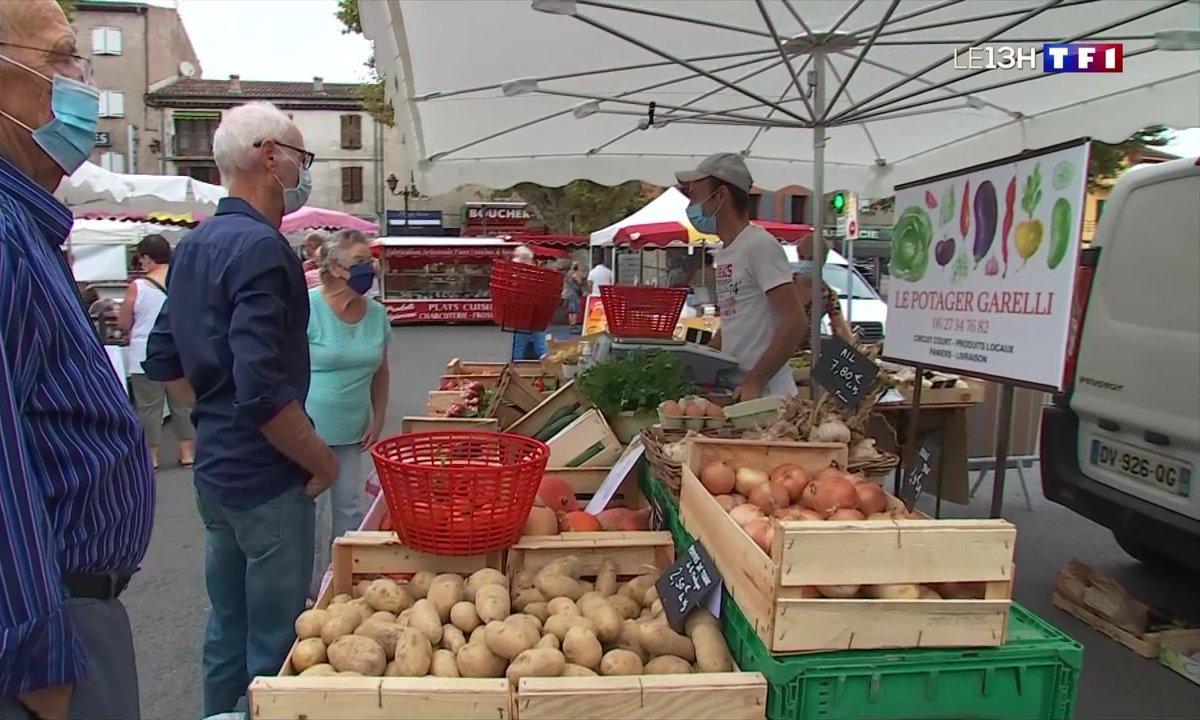 Après 25 ans d'absence, le marché de Pégomas renaît