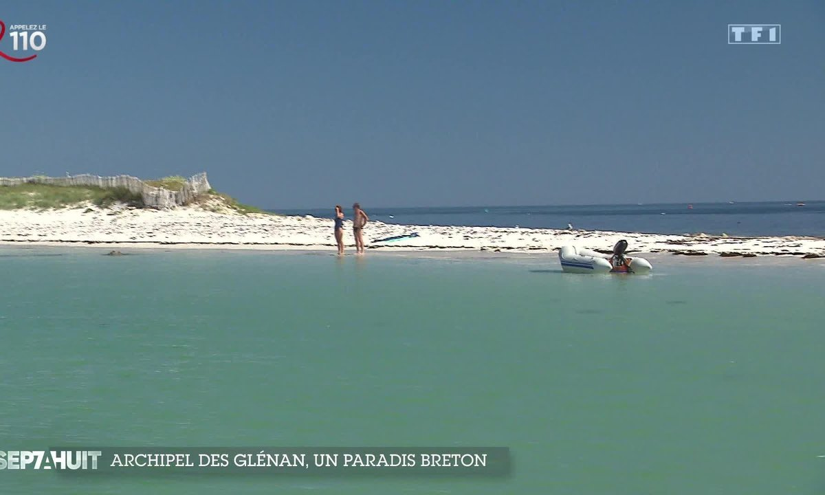 Archipel des Glénan, un paradis Breton