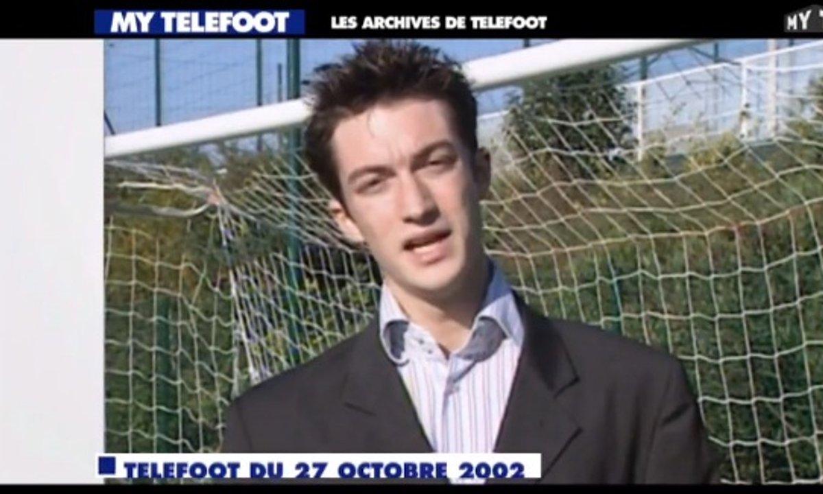 Les archives de Téléfoot : Frédéric Calenge à ses débuts !