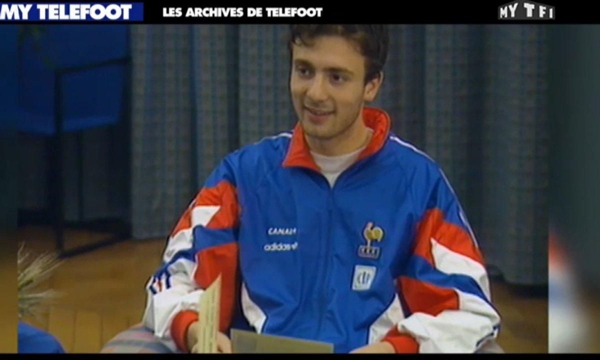 Les archives de Téléfoot : Domenech et Dugarry !