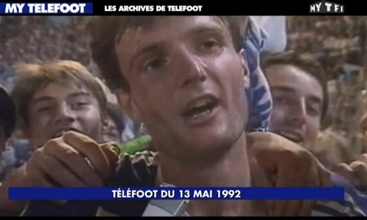 Les archives de Téléfoot : Frank Leboeuf avec des cheveux !