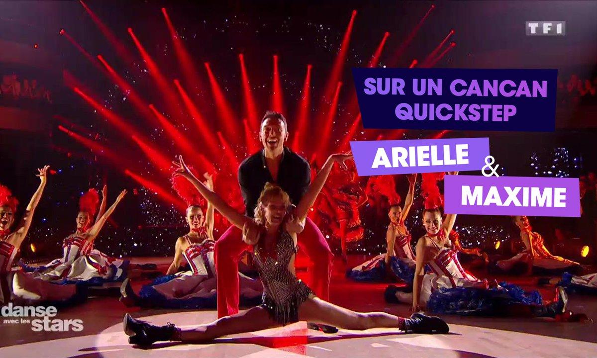 Sur un Tango et Cancan, Arielle Dombasle et Maxime Dereymez (Libertango)