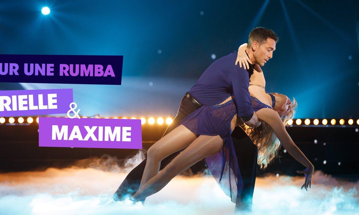 Sur une Rumba, Arielle Dombasle et Maxime Dereymez (Ma Révérence)