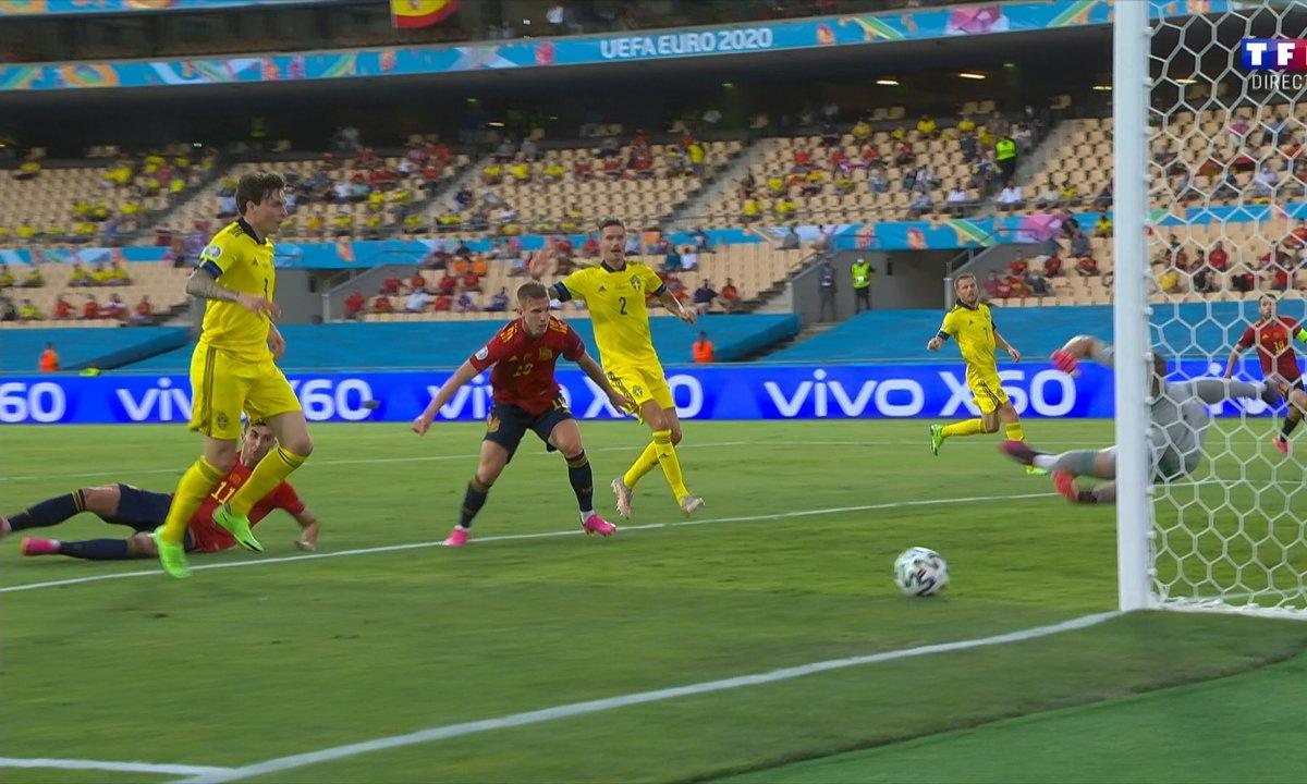 Espagne - Suède (0 - 0) : Voir la grosse parade d'Olsen en vidéo