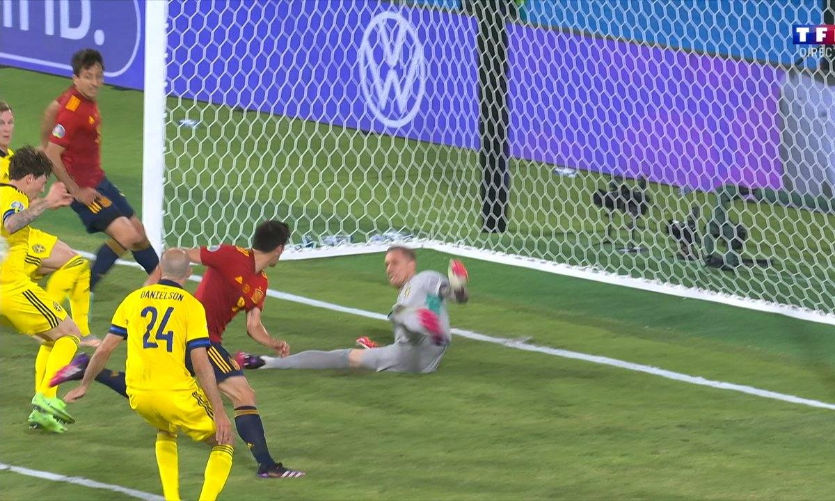 Espagne - Suède (0 - 0) : Voir le sauvetage d'Olsen en vidéo