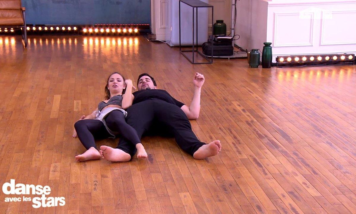 Artus et Marie Denigot s'éclatent en répétitions