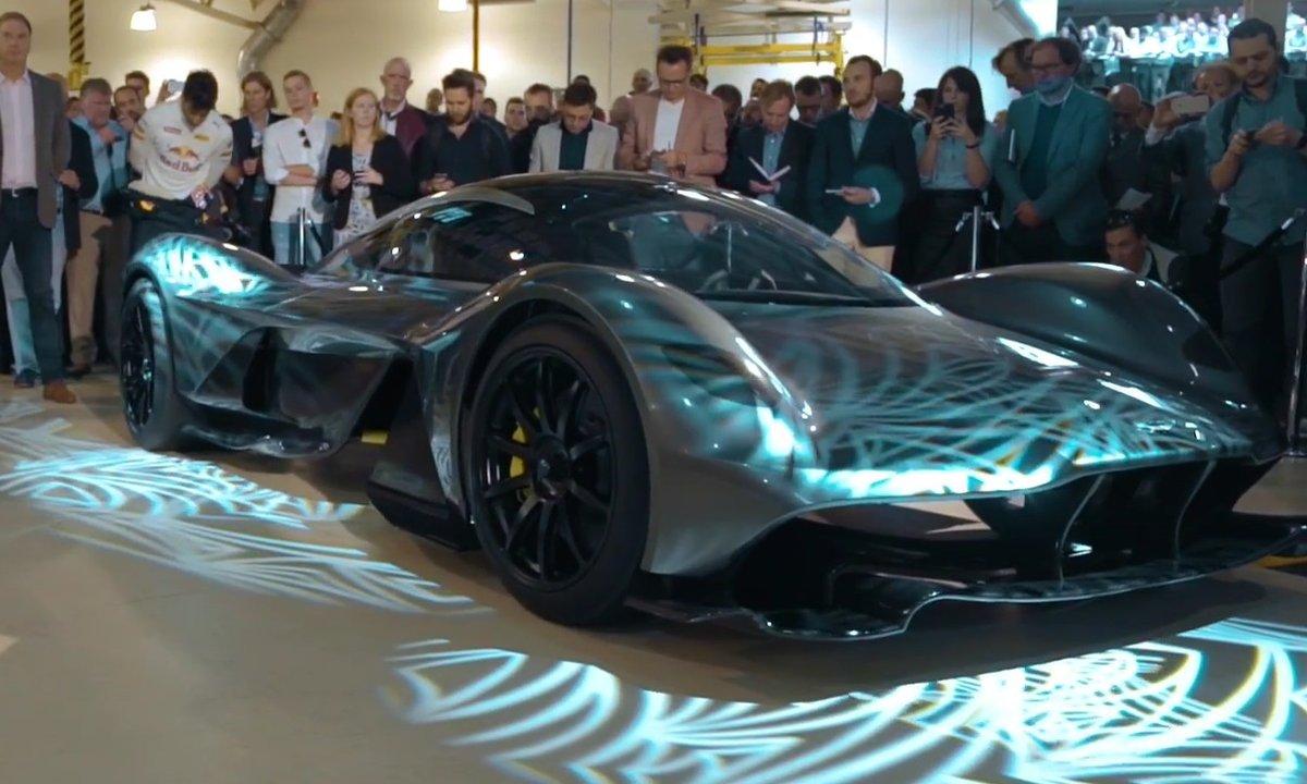 Aston Martin-Red Bull AM-RB 001 : présentation officielle à Gaydon