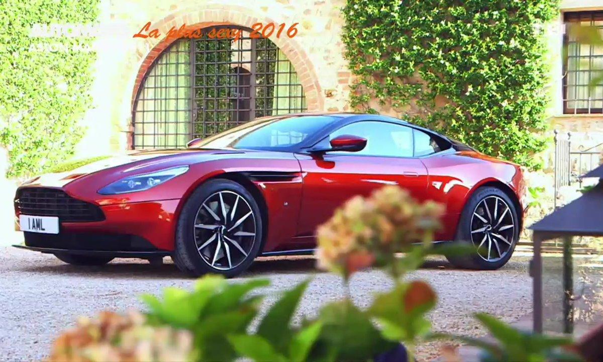 Sondage Automoto : la Voiture Sexy de l'Année 2016 est l'Aston Martin DB11