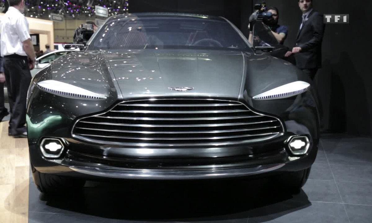 L'Aston Martin DBX Concept au Salon de Genève 2015