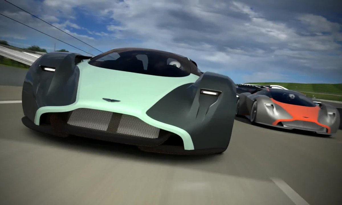 Aston Martin DP-100 Concept Vision GT 2014 : le supercar virtuel en action