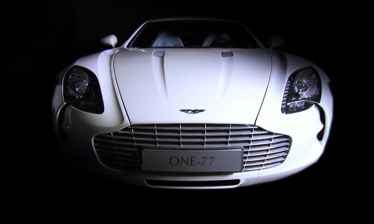 Aston Martin One-77 2009 : présentation officielle