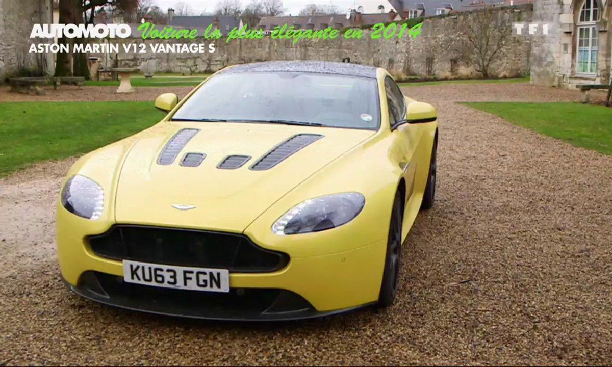 La Voiture la Plus Élégante de l'Année 2014 est l'Aston Martin V12 Vantage S