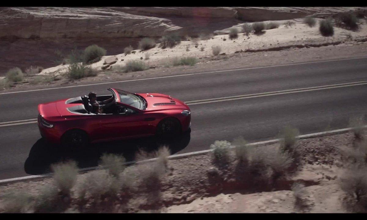 Aston Martin V12 Vantage S Roadster 2014 : présentation officielle