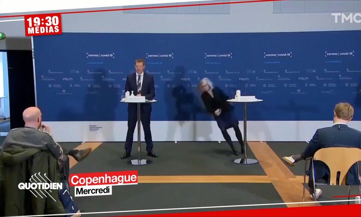 AstraZeneca : une ministre danoise s'effondre en pleine conférence de presse