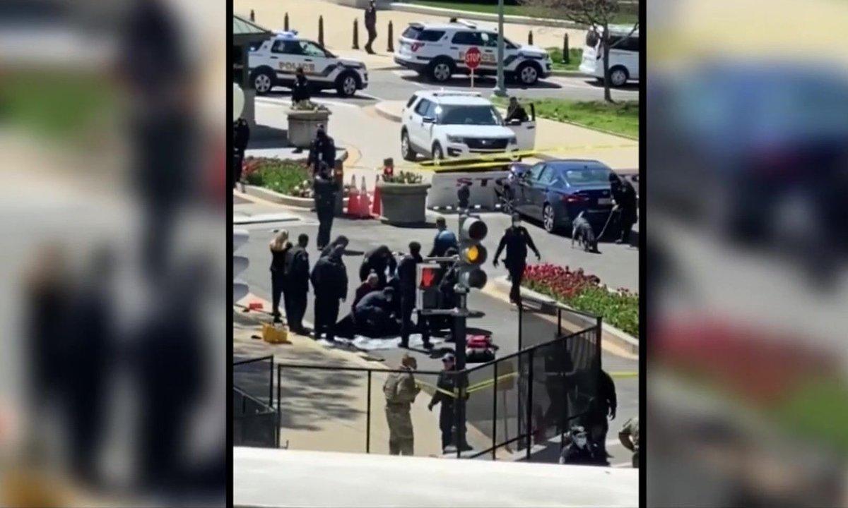 Attaque à la voiture-bélier près du Capitole : un policier tué et un autre blessé