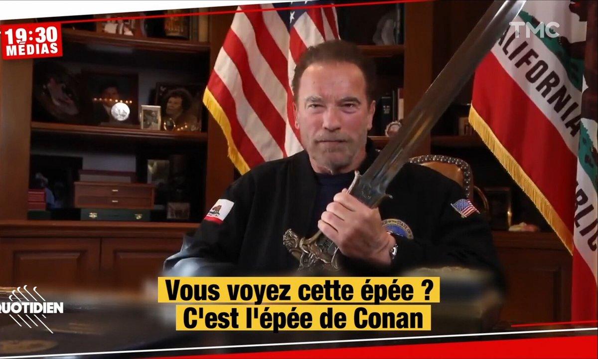 Attaque du Capitole: Arnold Schwarzenegger dégaine l'épée de Conan pour tacler Trump