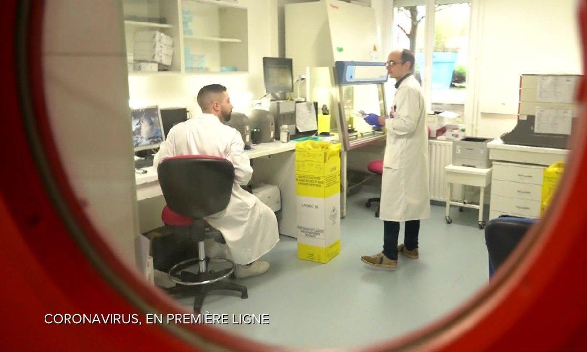 Au coeur de l'hôpital Bichat à Paris, en première ligne face au coronavirus