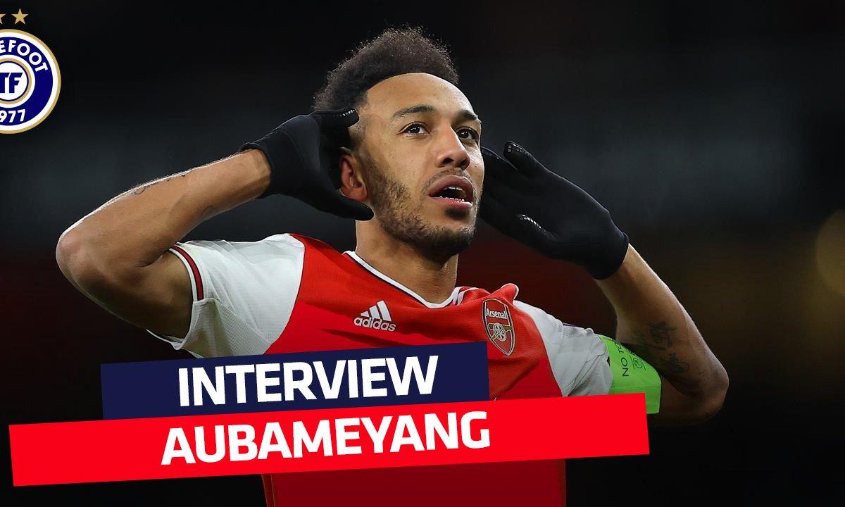 """""""Le choix le plus important de ma carrière"""" : la longue d'interview de Pierre-Emerick Aubameyang"""