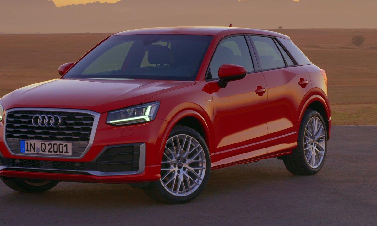 L'Audi Q2 investit le segment des SUVs urbains