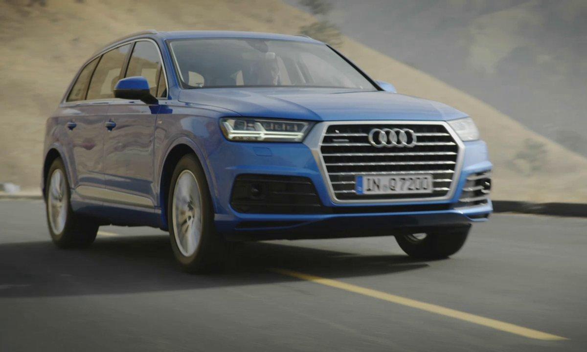 Audi Q7 2015 : présentation officielle en vidéo