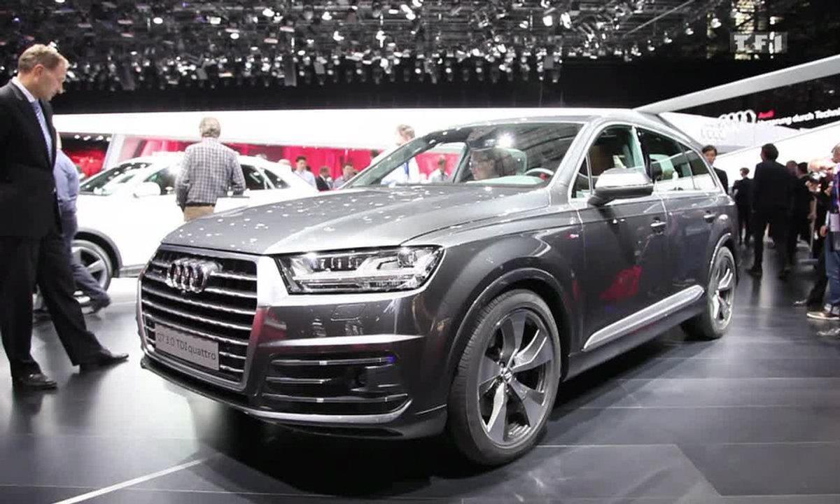 L'Audi Q7 seconde génération au Salon de Genève 2015