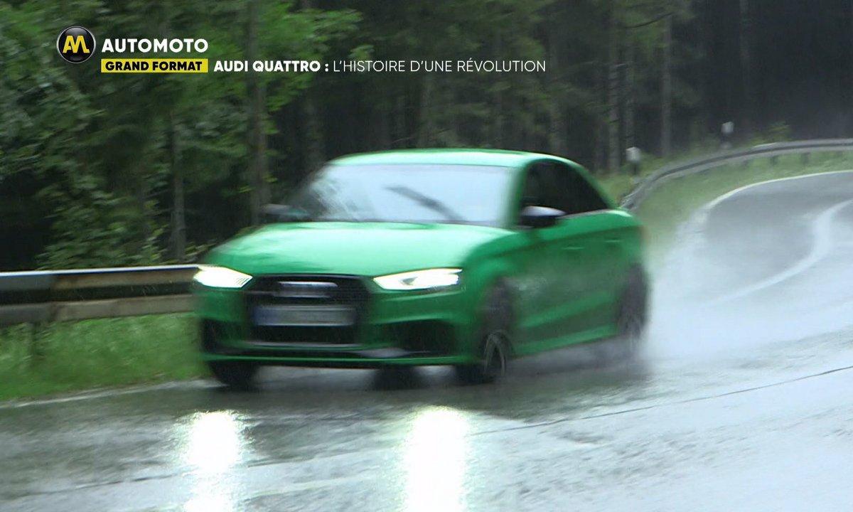 Audi Quattro : L'histoire d'une révolution