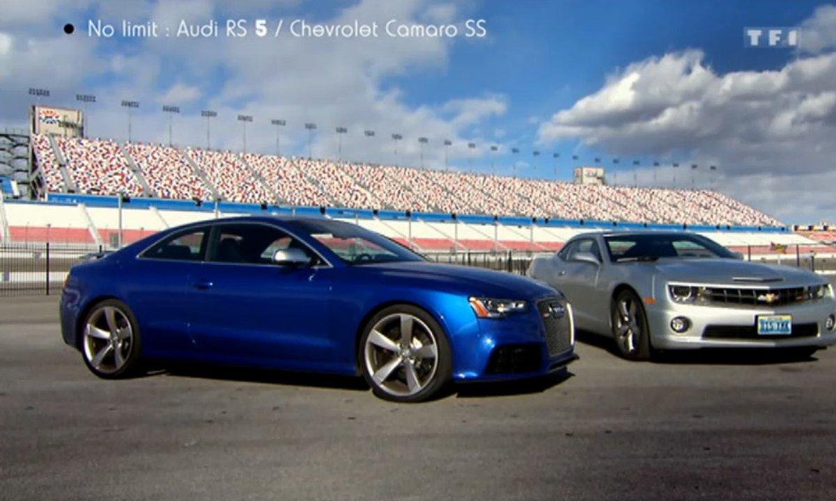 No Limit : Duel Audi RS 5 vs Chevrolet Camaro SS