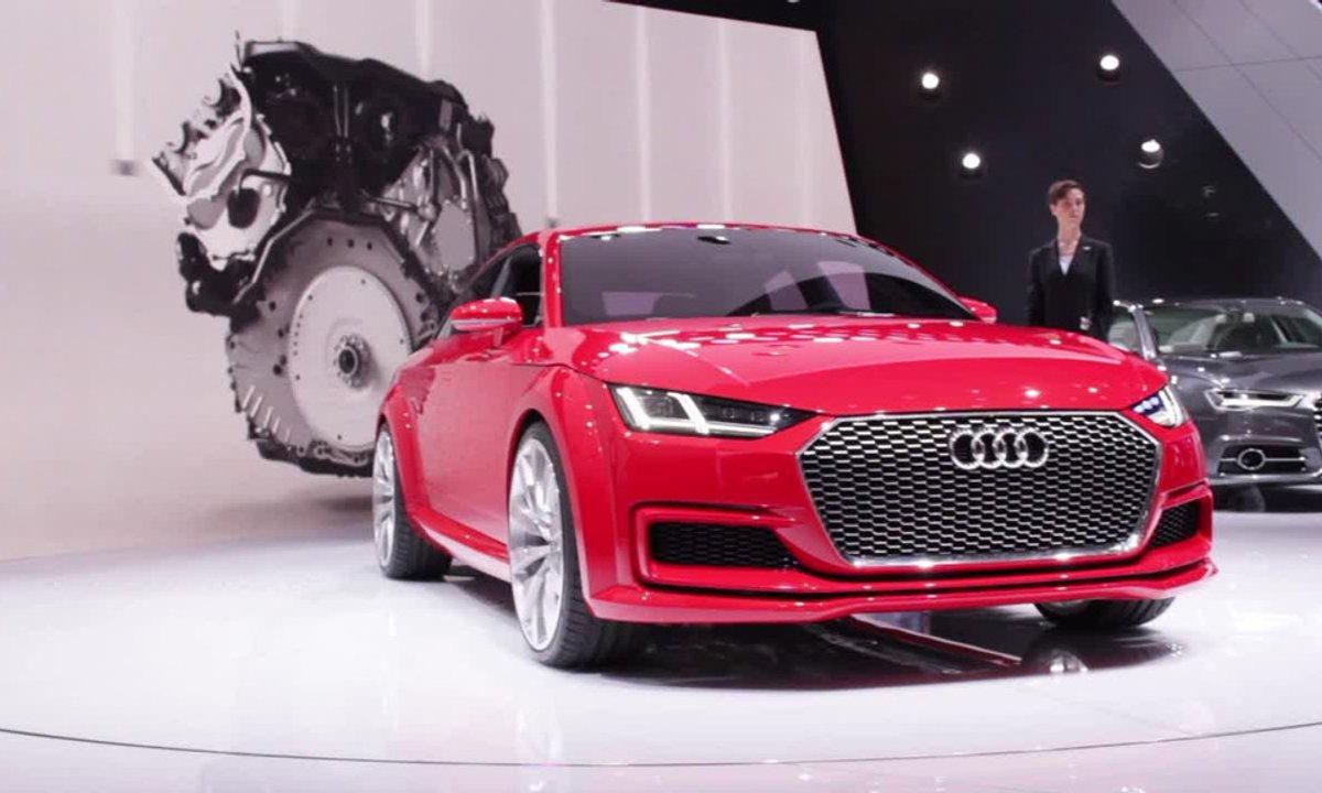 Audi TT Sportback Concept, TT 3ème génération  - Mondial de l'Automobile 2014