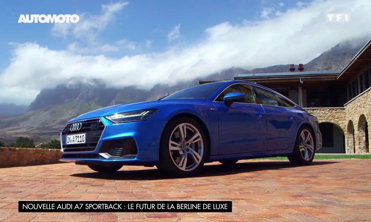 Nouvelle Audi A7 Sportback : le futur de la berline de luxe