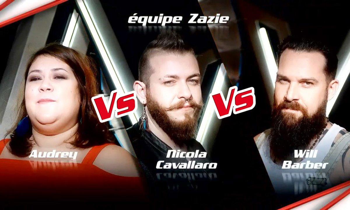 Audrey VS Nicola Cavallaro VS Will Barber - Epreuve Ultime (Saison 6)