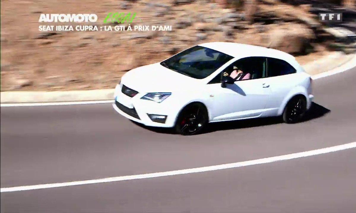 Essai Vidéo : Seat Ibiza Cupra 2016, la GTI La moins chère